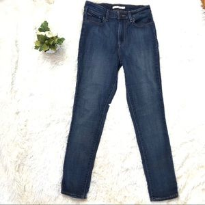 Levi's 721 high rise Waisted Skinny Jeans Stretch